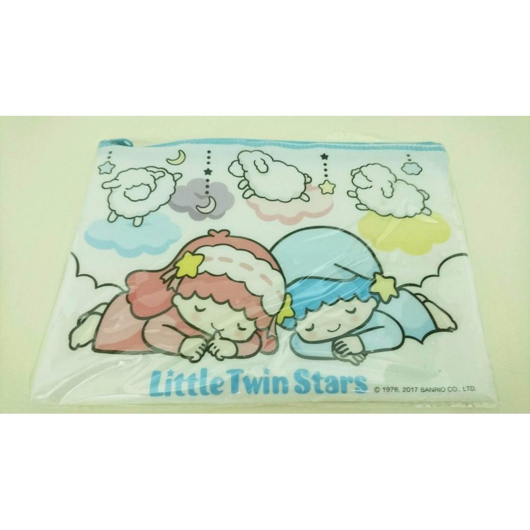 雙星仙子 白日夢 單層文件拉鍊資料袋 雙子星 Little Twin Stars kikilala Sanrio 三麗鷗