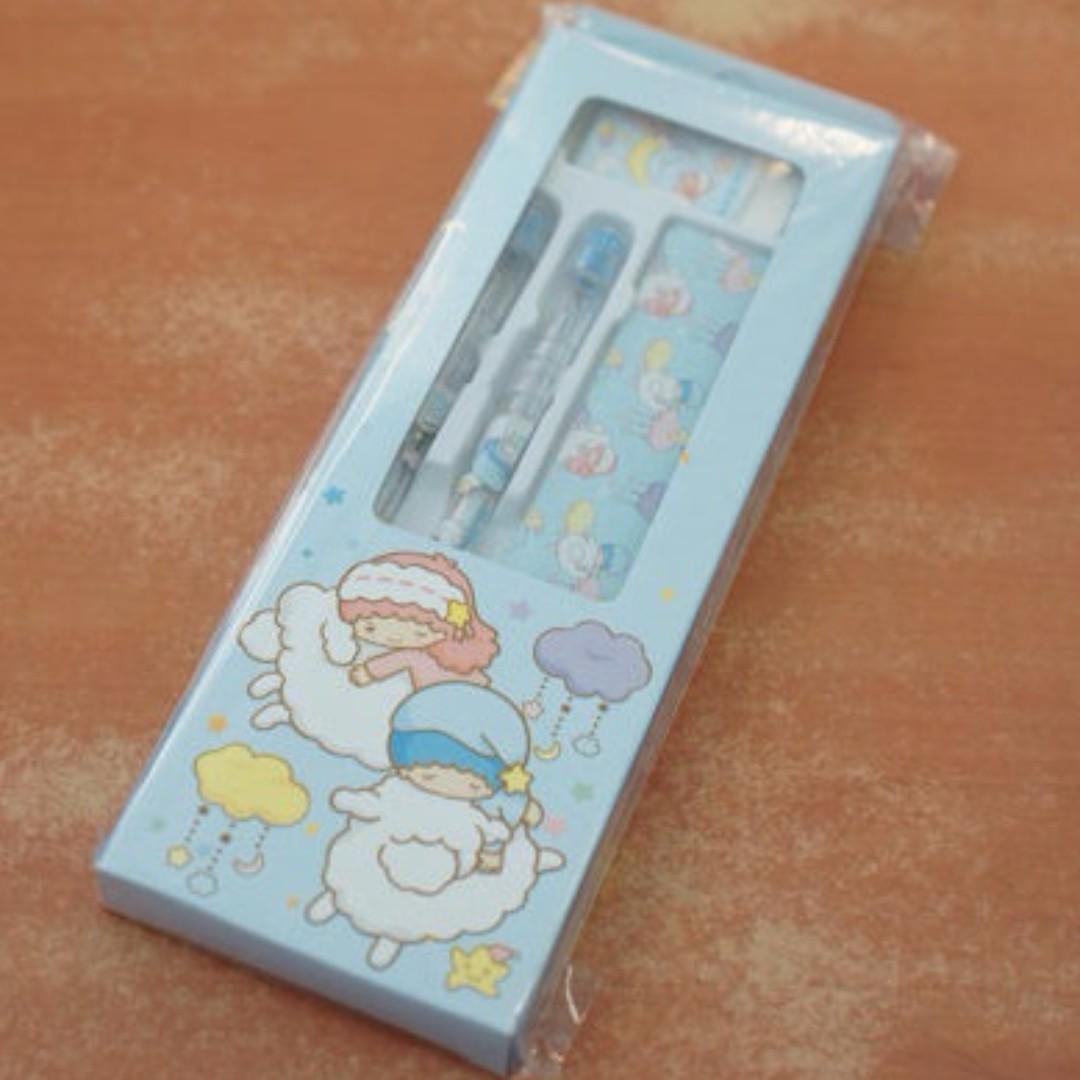 雙星仙子 白日夢輕便文具組 Sanrio 三麗鷗 雙子星 Little Twin Stars kikilala 台灣正版