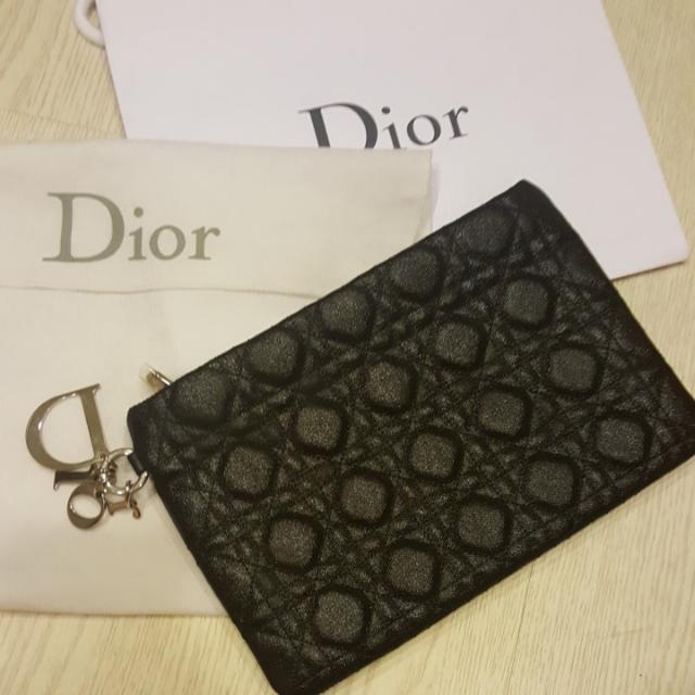 真品90%新 Dior 經典款手拿包