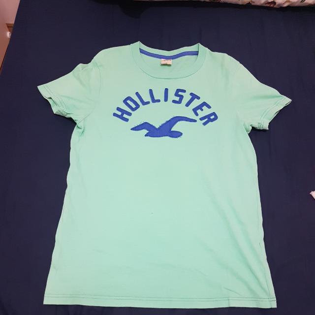 美國品牌 HOLLISTER 綠色短T