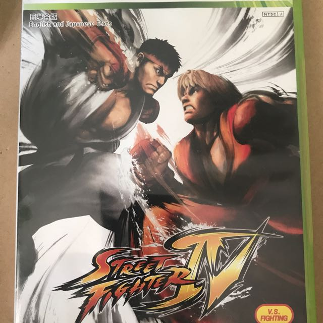 包郵 XBOX 360 STREET FIGHTER IV 日英版