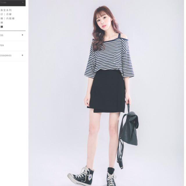 韓版A字裙