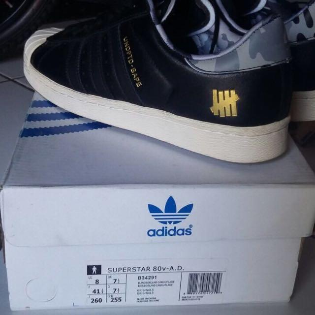 Adidas Superstar Bape