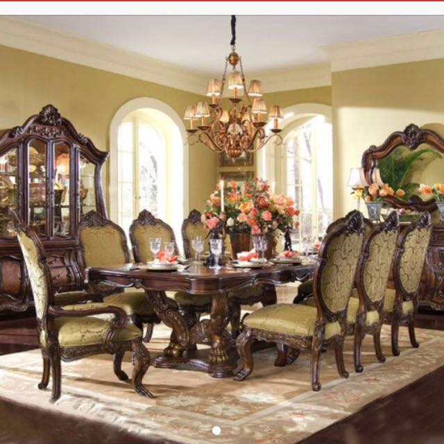 AICO Dining Set Chateau Beauvais