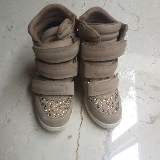 Aldo Heels Boots Swarovski