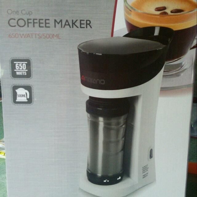 Ambiano One Cup Coffee Maker With Thermo On The Go Tumbler Kitchen