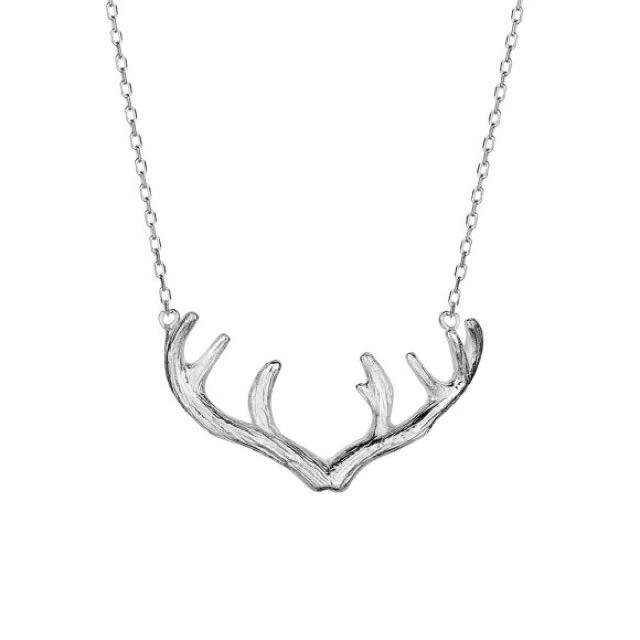 🎁FREE GIFT WITH THIS PURCHASE🎁Antler Necklace : STERLING SILVER