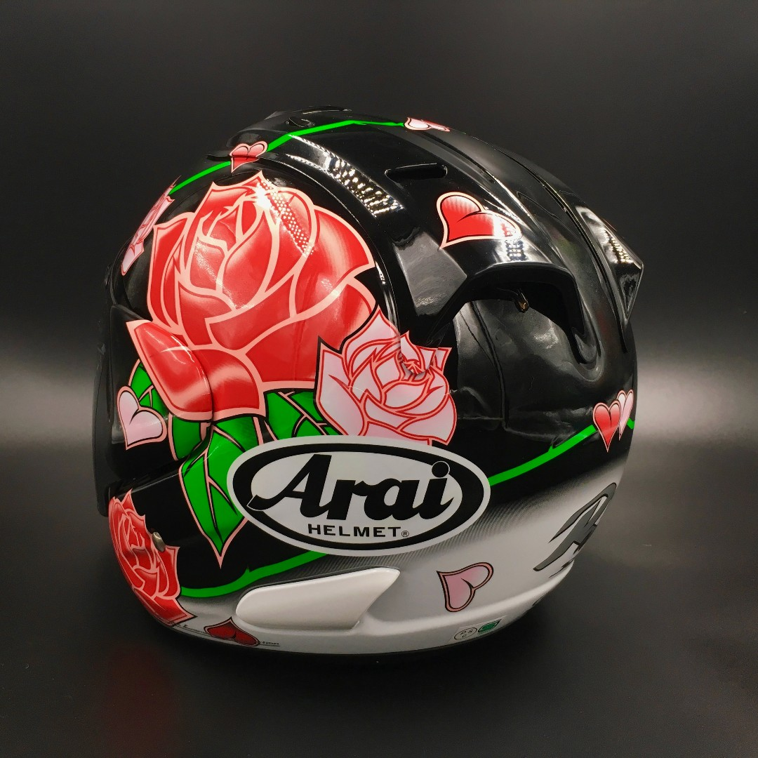arai ram3 rose fibreglass motorbikes motorbike apparel on carousell. Black Bedroom Furniture Sets. Home Design Ideas
