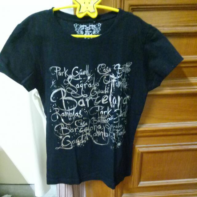PAKET D-Baju Kaos hitam