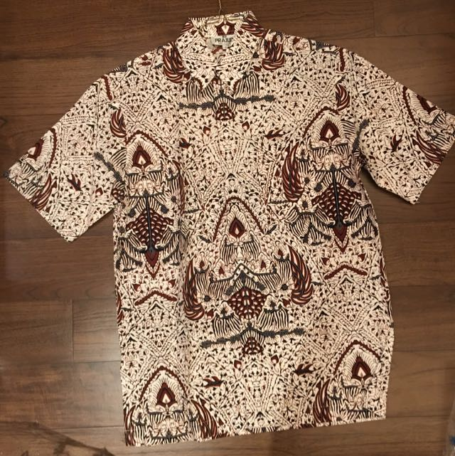 Batik Kemeja Prajudi High Fashion