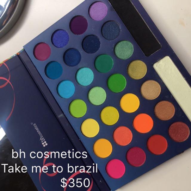 Bh Cosmetics Take Me To Brazil