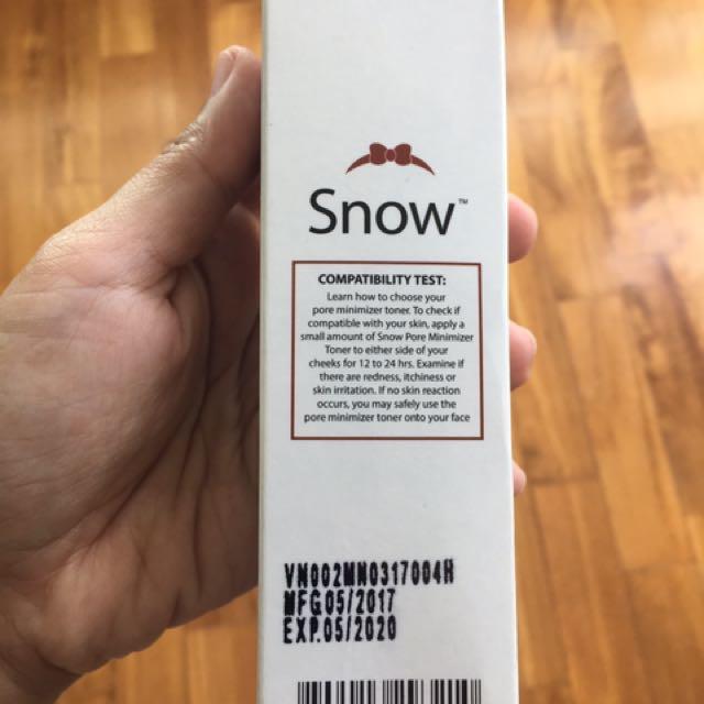 Bn Snow Pore Minimizer Toner Health Beauty Bath Body On