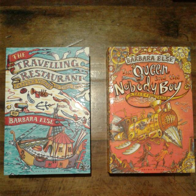 Books: The Travelling Restaurant and The Queen and the Nobody Boy
