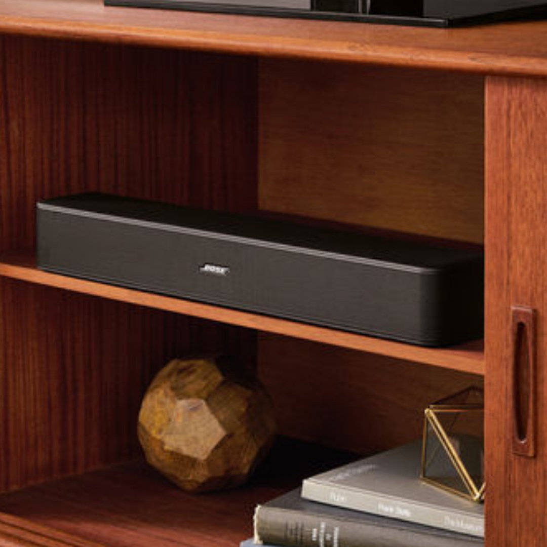 BOSE solo5 TV sound System (bluethooth connection available as well)