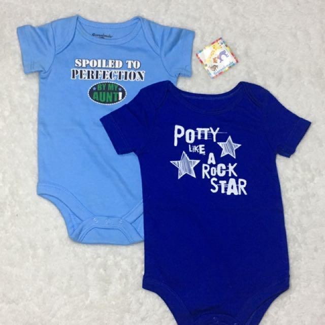 Brand New Baby Statement Onesies