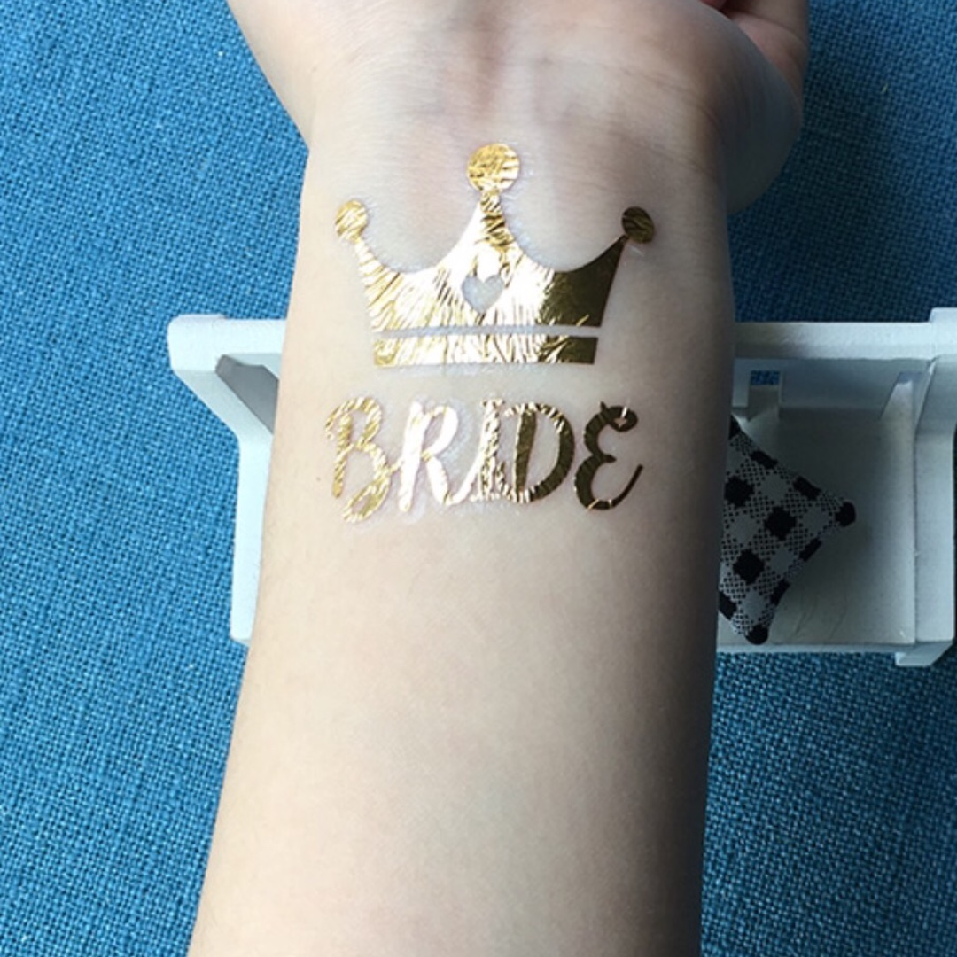 'Bride' Hens Night Party Tattoos. BRAND NEW