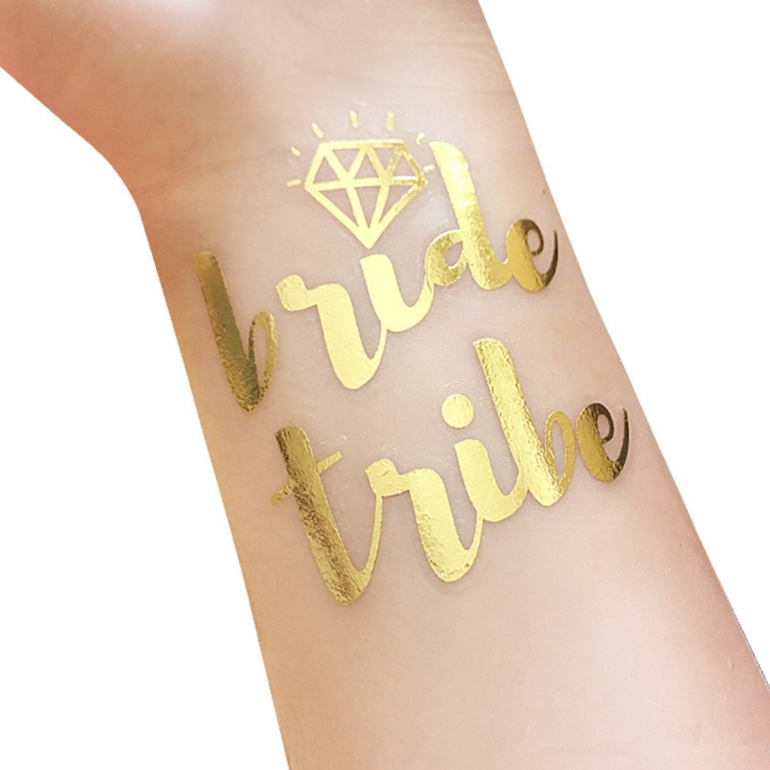 'Bride Tribe' Hens Night PartyTattoos. BRAND NEW
