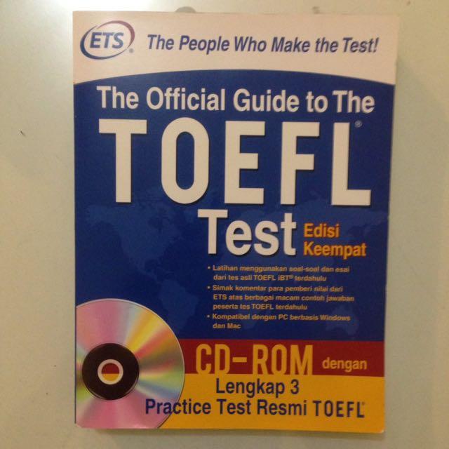 Buku TOEFL ETS OFFICIAL