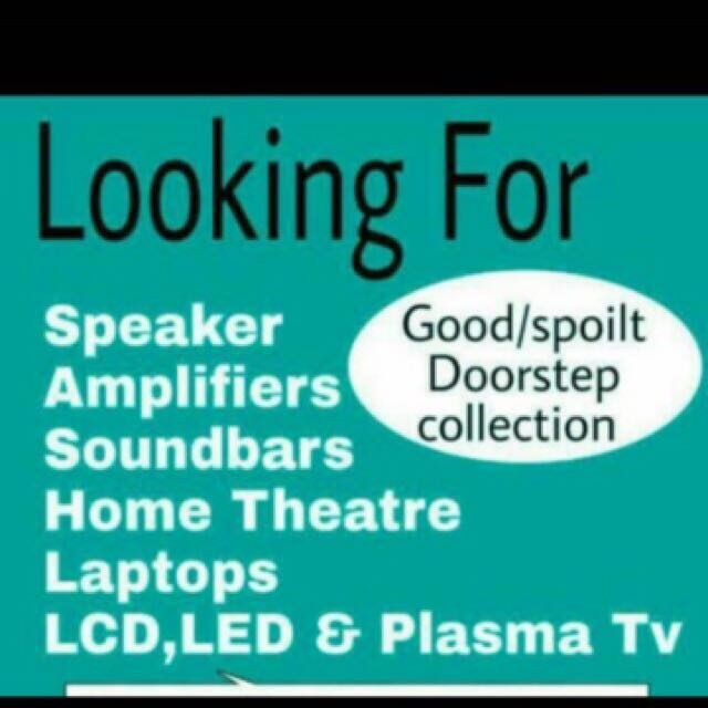 Buying All Spoilt LED TV Radio amplifier Laptop Aircon