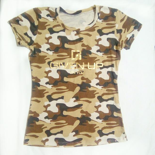 (Repriced!) Camouflage Shirt