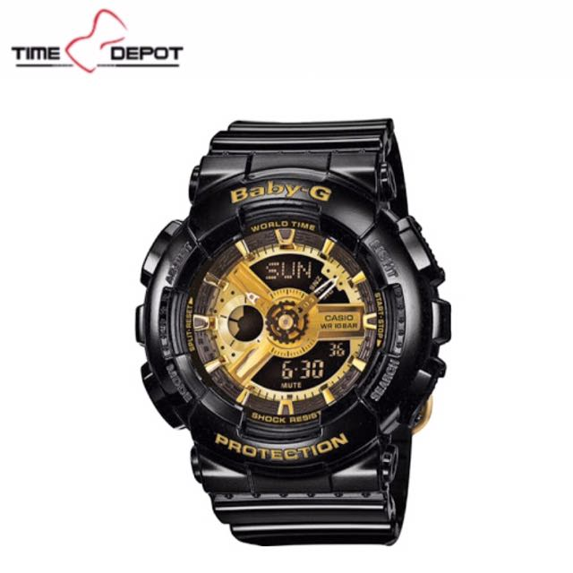 Casio Black And Gold Baby-G