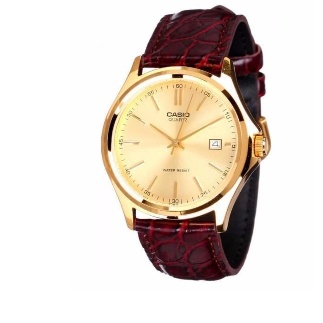 Casio MTP-1183Q-9ADF Men's Watch Brown Strap
