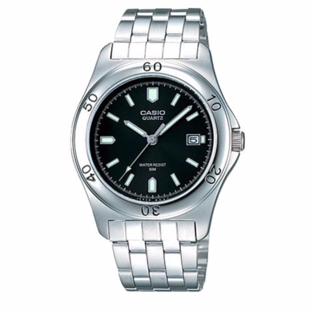 Casio MTP-1213A-1AVDF Men's Watch Silver Strap