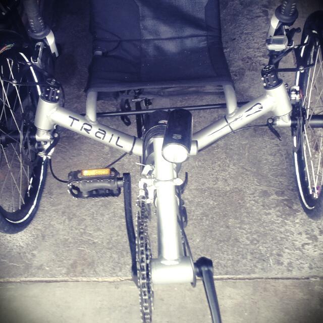 Catrike Trail Bike.