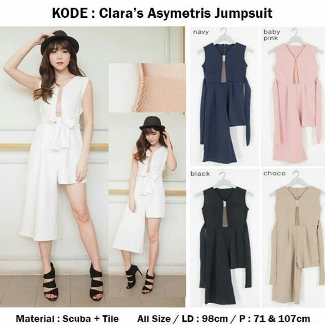 Clara's Asymetris Jumpsuit
