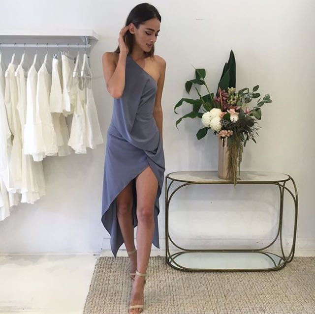 Coco & Lola One Fell Swoop Philly Dress in Dusk