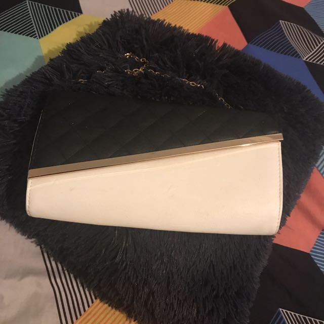 Colette Side Bag With Gold Strap