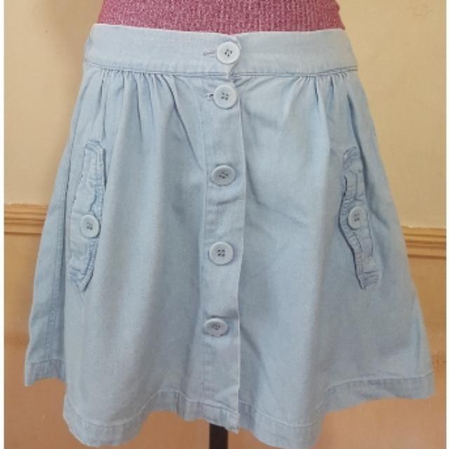 Cotton on Chambray Skirt