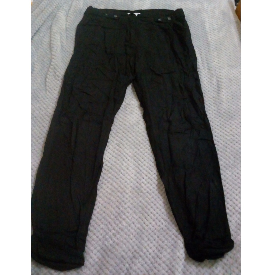 Cotton on loose black pants