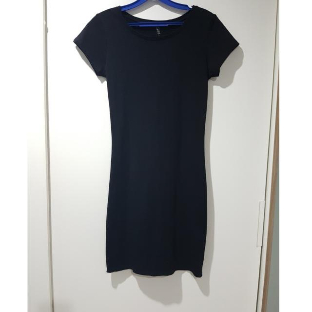 88b647f4bfde Cotton On plain black tshirt dress