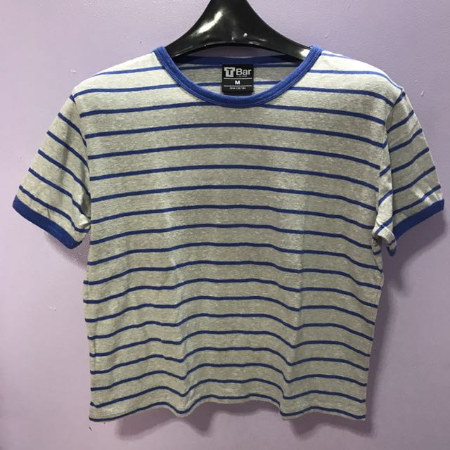 Cotton On Striped Ringer Tee