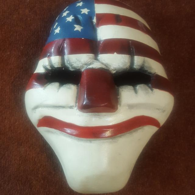 Custom Payday 2 Mask