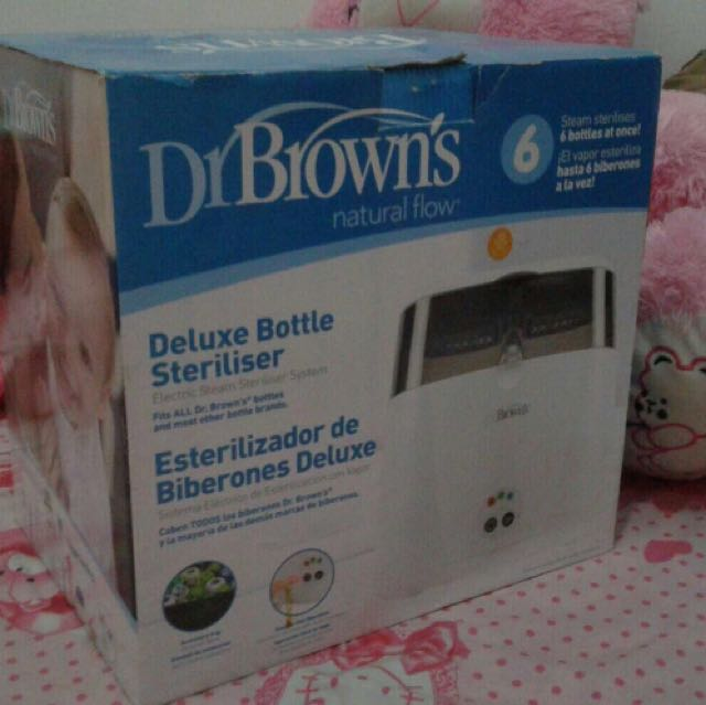 Deluxe Sterilizer Bottle Dr Brown