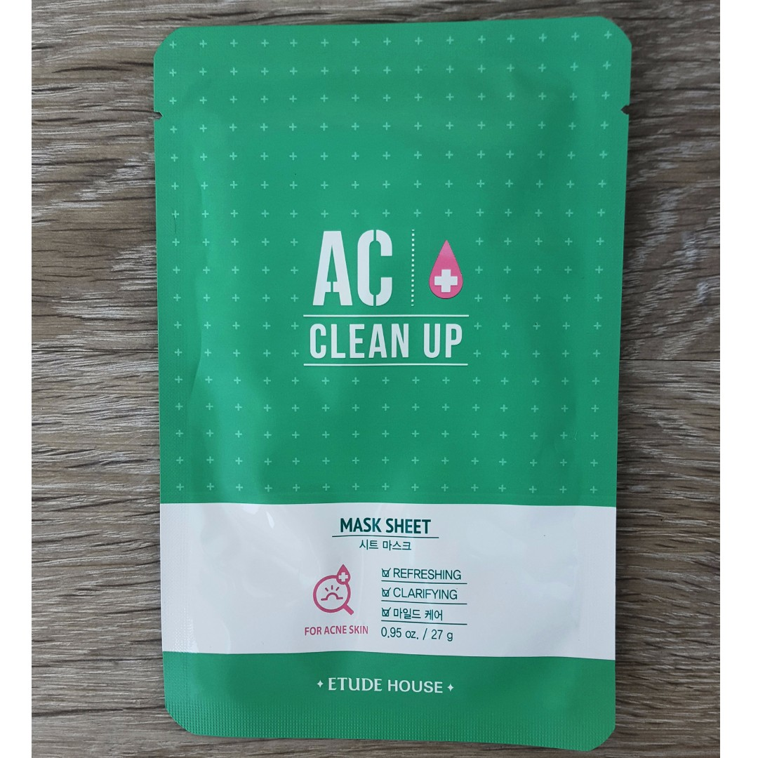 ETUDE HOUSE AC Clean Up Mask