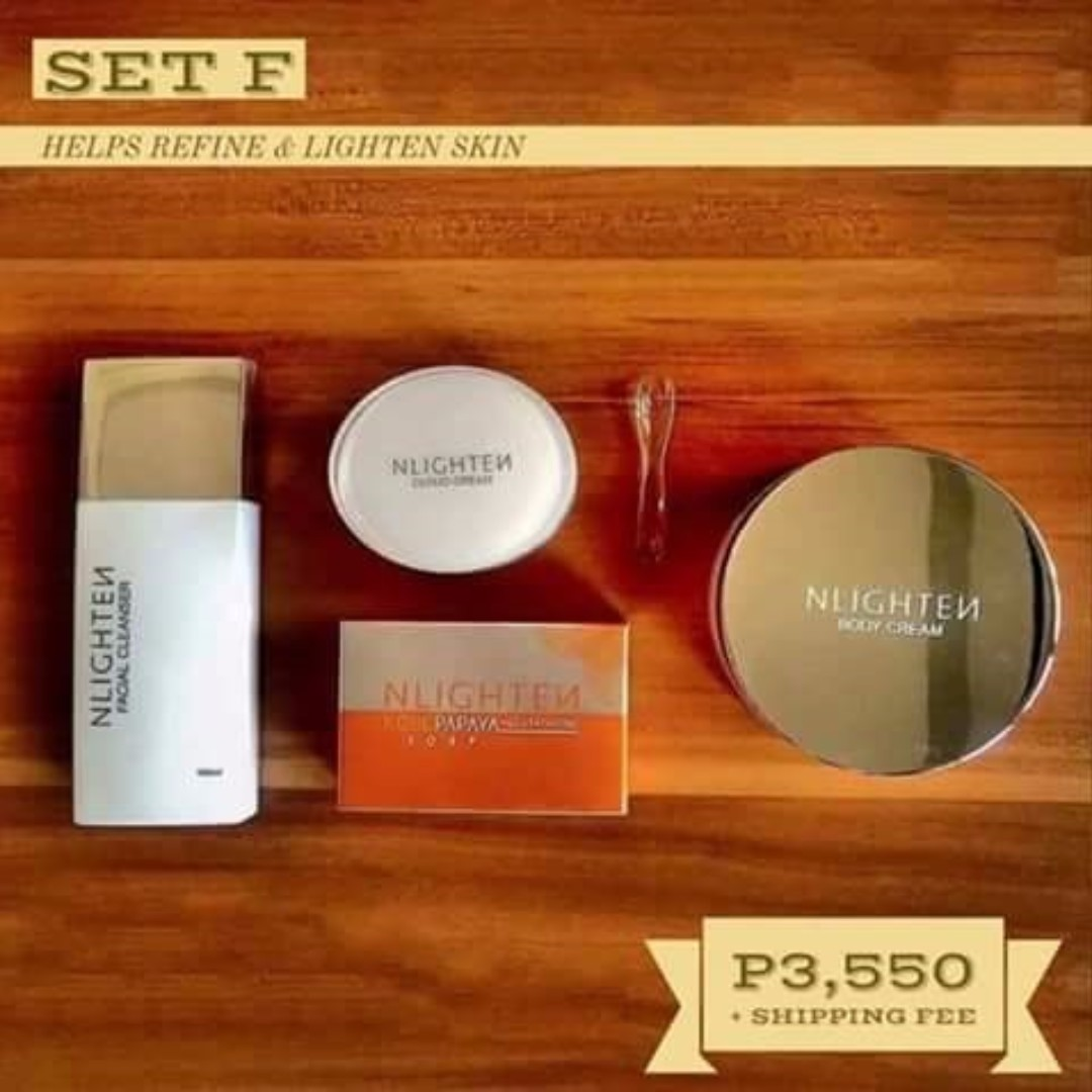 Facial Cleanser/Cloud Cream/Kojic Soap/Body Cream