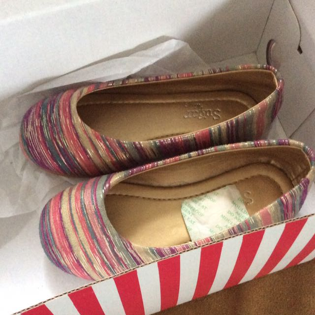Flats For Kids macy Pink