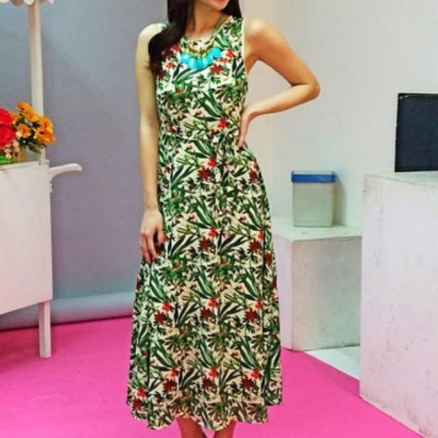 Floral Maxi Dress BNWT