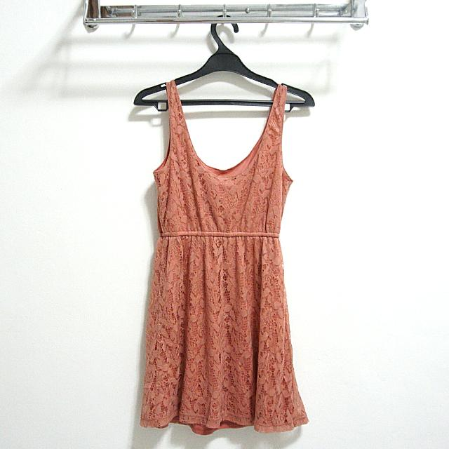 Forever 21 Coral Dress