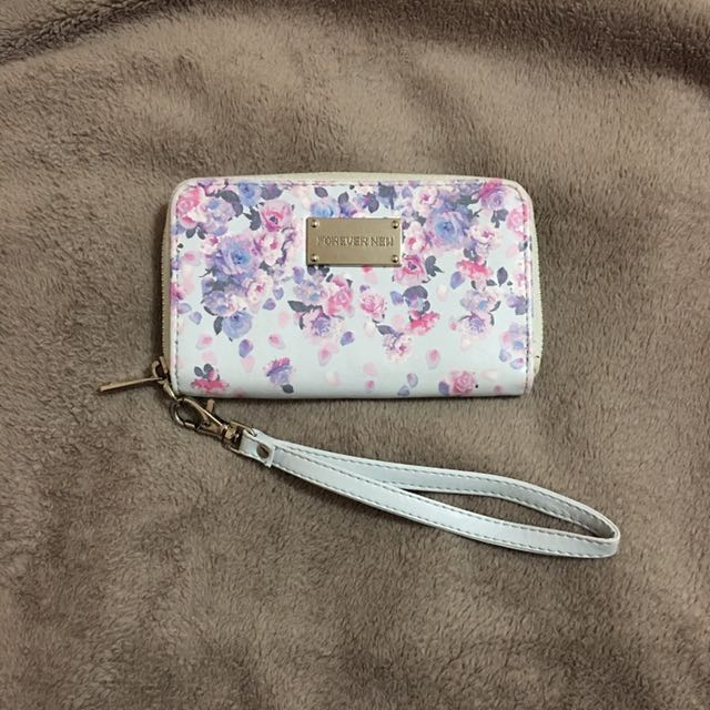 Forever New Floral Wrist Wallet