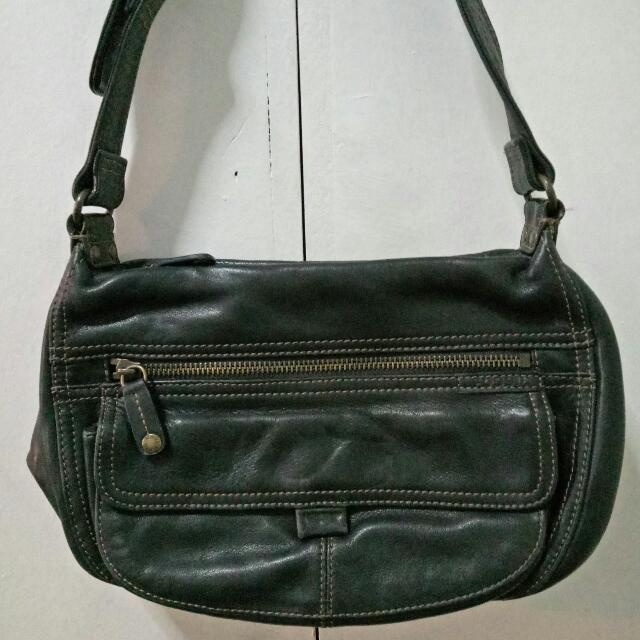 💯 Fossil Hand Bag (authentic) Pure Leather