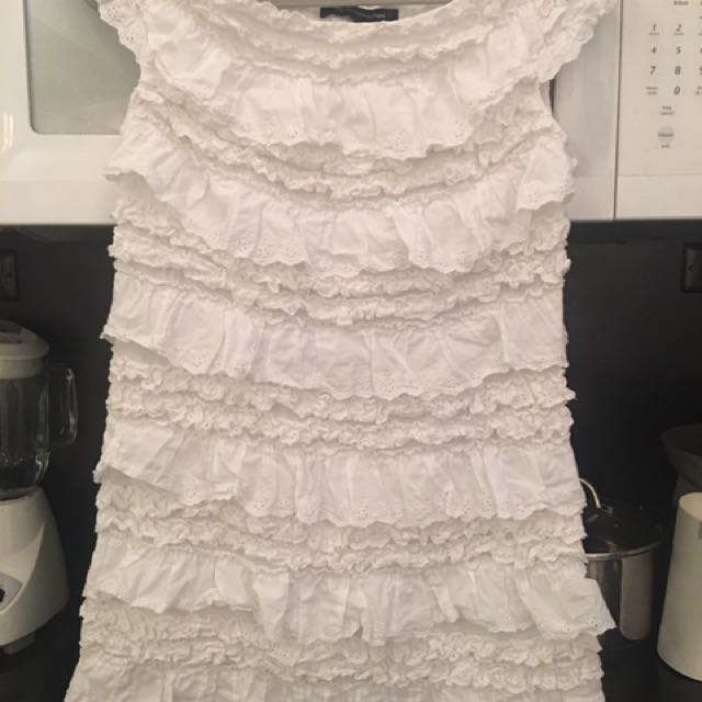French Connection Short White Dress