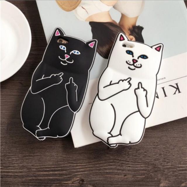 Galaxy J5/J2 PRIME| Black Bad Cat Case
