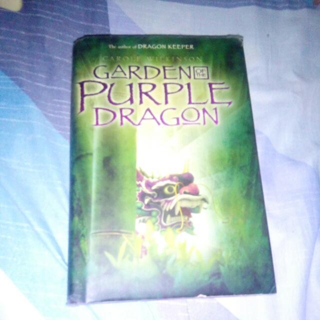 GARDEN PURPLE DRAGON by Carole Wilkinson (Author Of Dragon Keeper)