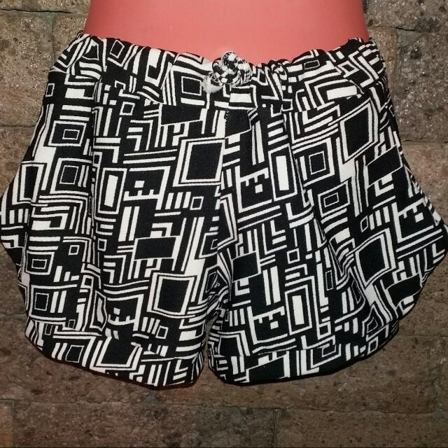 Garterized Shorts