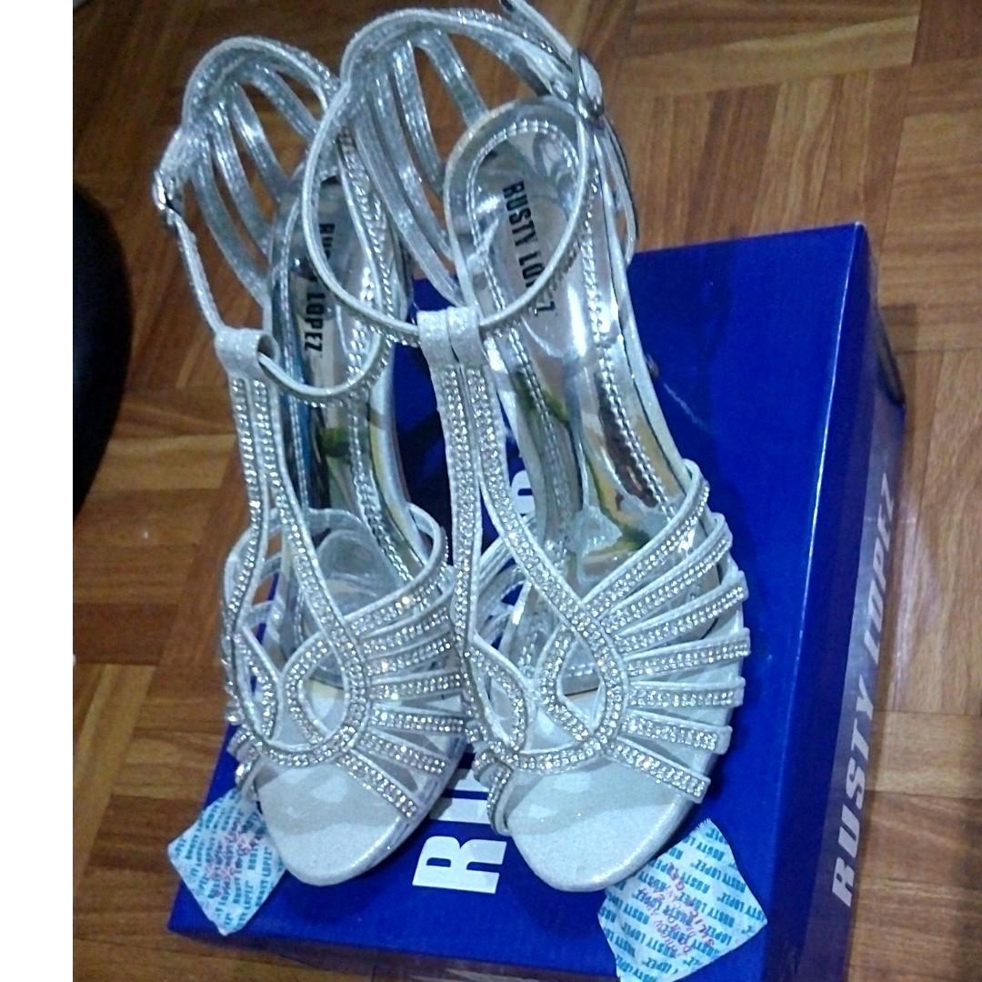 Gibi Shoes (Bridal Studded Shoes)