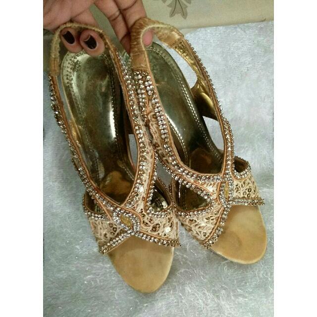 heels Permata Gold